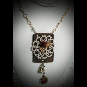 Repurposed Necklace